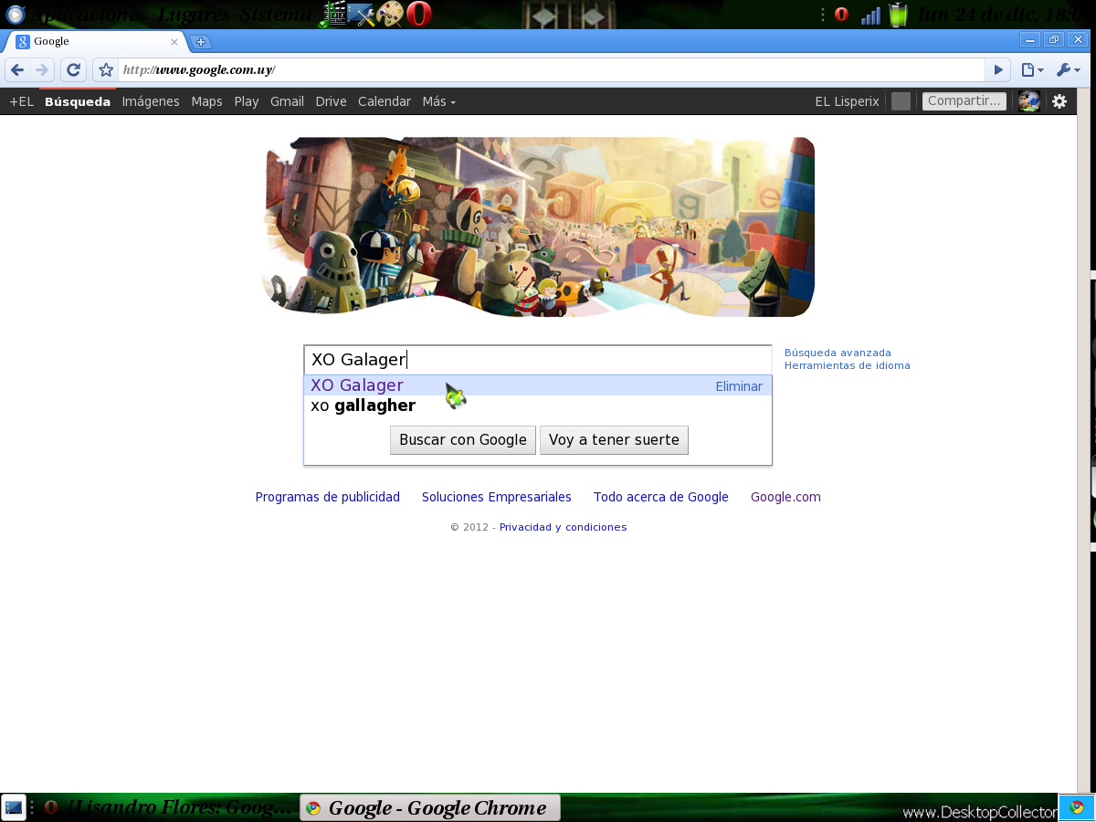 XO Galager : Google Chrome Para Gnome