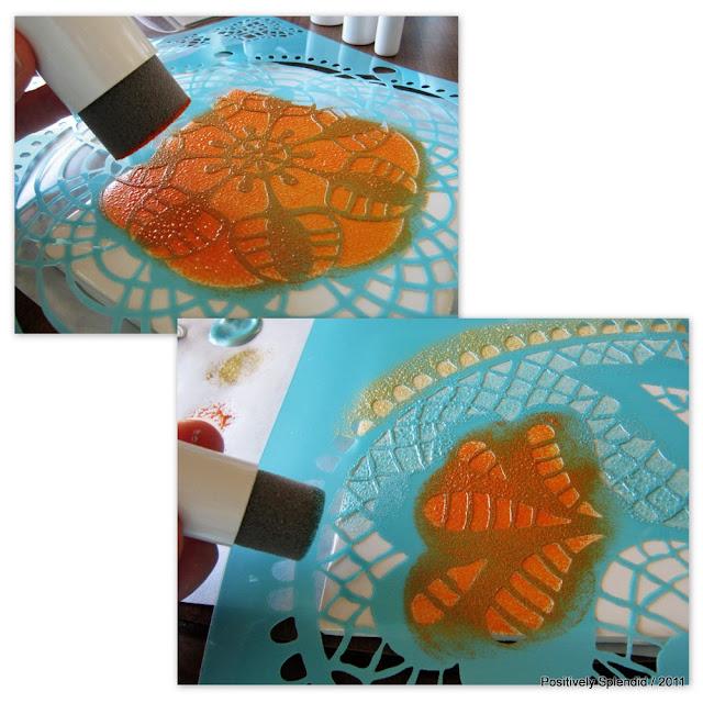 Diy Painted Ceramic Tile Tutorial Positively Splendid