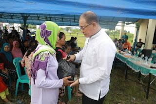 Bupati Kotabaru Temu Wicara Dengan Masyarakat Sungai Durian