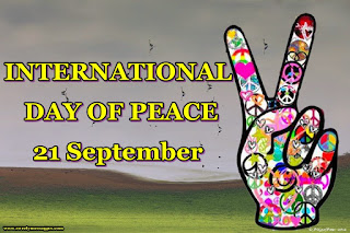 world peace day image