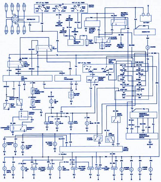 1975 Cadillac DeVille Wiring Diagrams - Learn Circuit Diagram