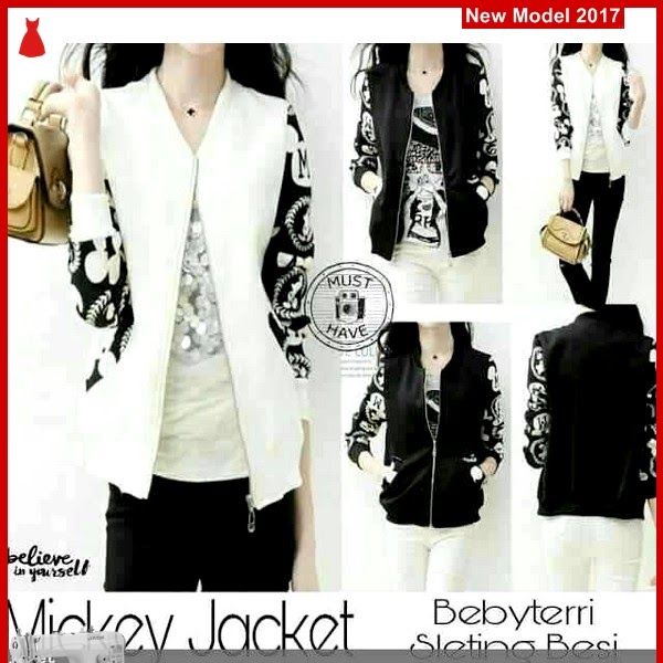 MSF0042 Model Mickey Jacket Murah Gaby BMG