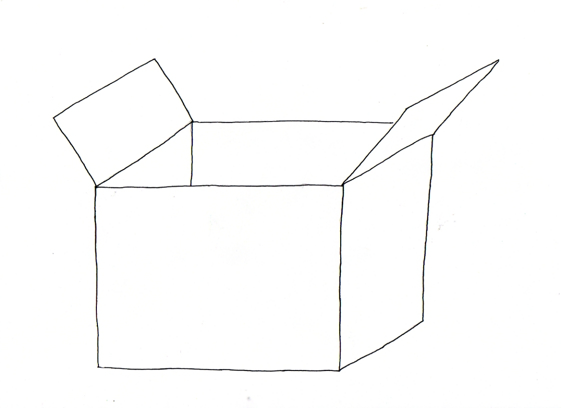Como Dibujar Una Caja