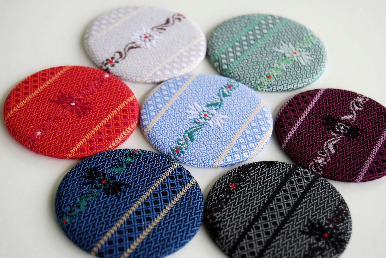 Taburettli Edelweiss Buttons