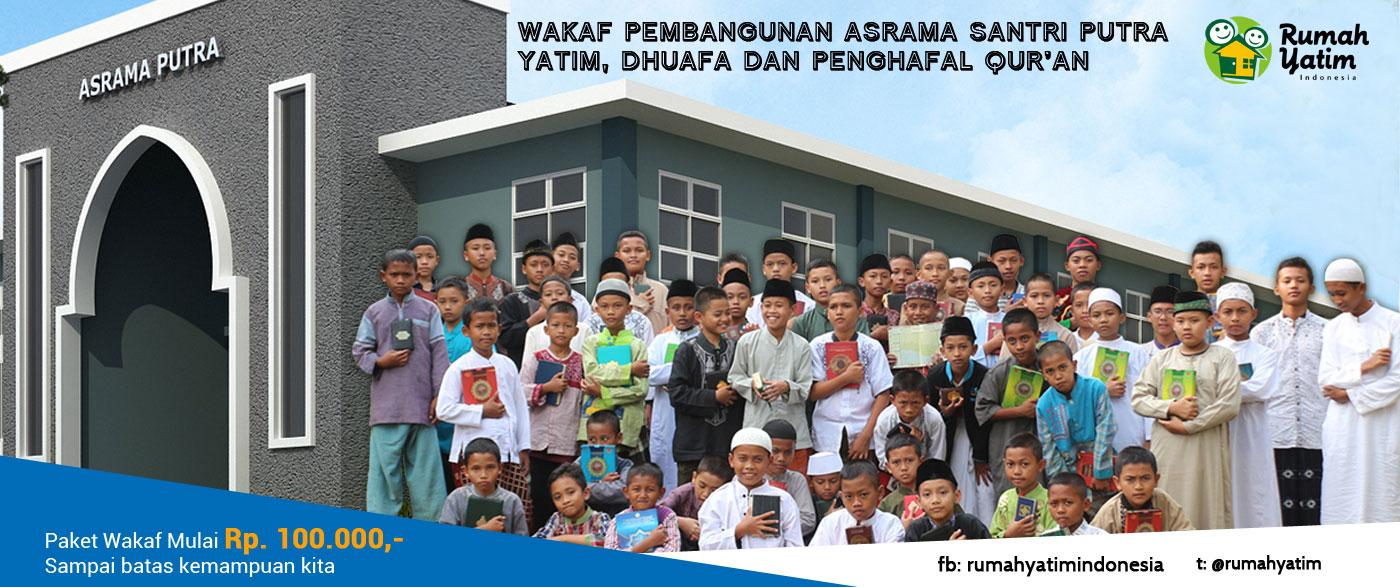 Wakaf Asrama Yatim