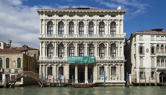Ca' Rezzonico em Veneza