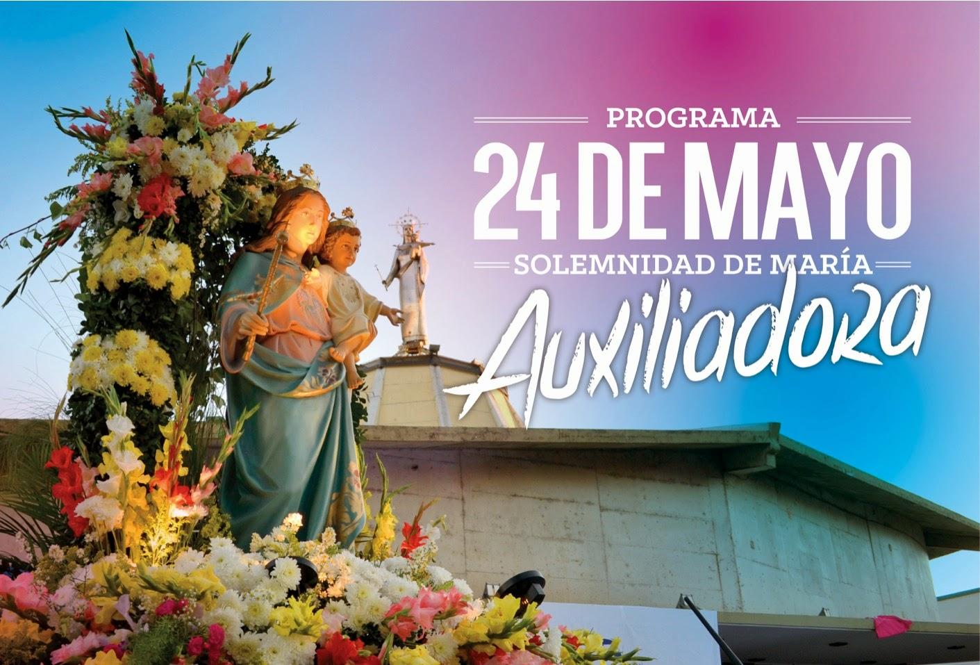 Programas Del Día De María Auxiliadora