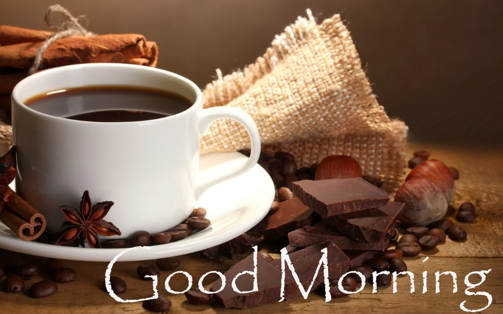 Good Night 3d Moving Wallpaper Coffee With Chocolate Good Morning Hd Wallpaper Hindi