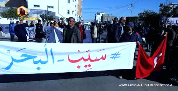 """رجيش : إيقافات في صفوف نشطاء حملة """" #سيب_البحر """""""