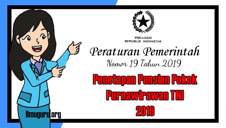 PP Nomor 19 Tahun 2019