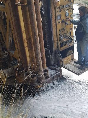 Πρέβεζα: Με επιτυχία οι πρώτες εργασίες γεώτρησης στο Σκιαδά