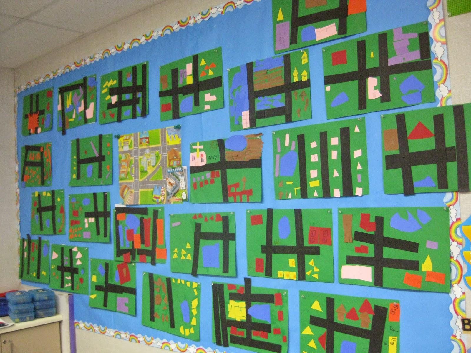 Kindergarten Corps: Social Studies In Kindergarten: Maps ...
