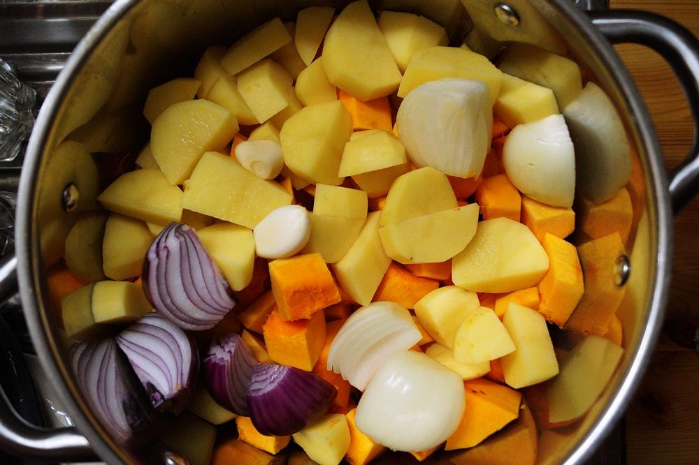 Kürbissuppe mit Kokosmilch für Faule
