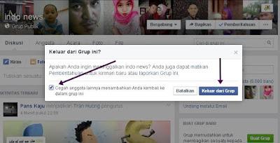 Cara Menangkal Agar Akun Facebook Anda Tidak Di Masukan Grup Tidak Jelas