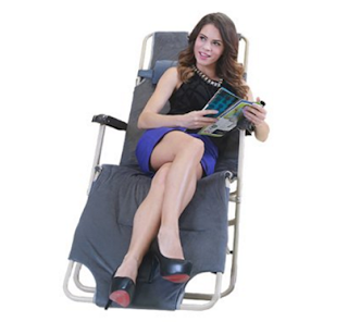 Flatworld Patio Lounge Chair Folding