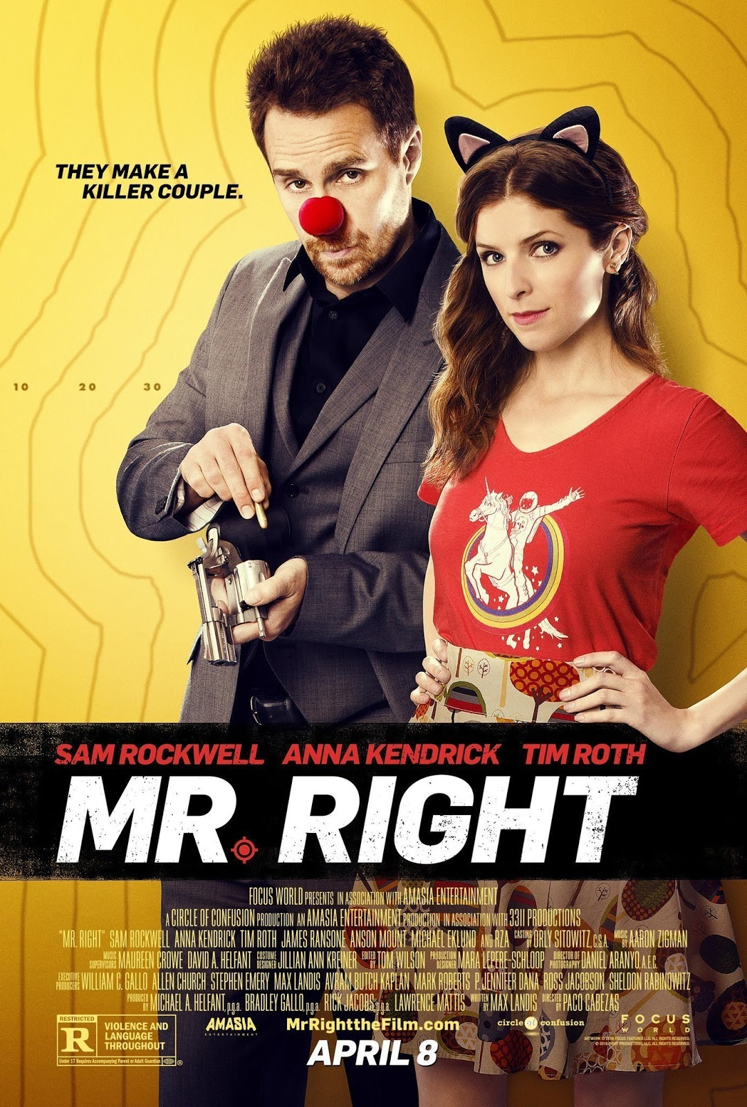 Nonton Film Online Mr Right (2015)