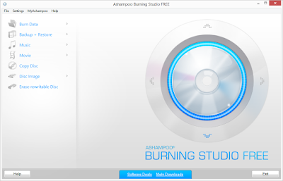 Ashampoo Burning Studio FREE 1.20.1