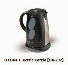 gambar teko merk elektrik terbaik oxone electric kettle