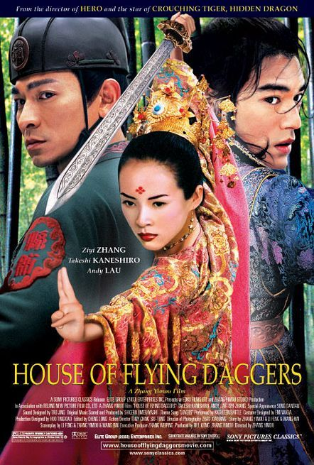 dom latających sztyletów film recenzja wuxia