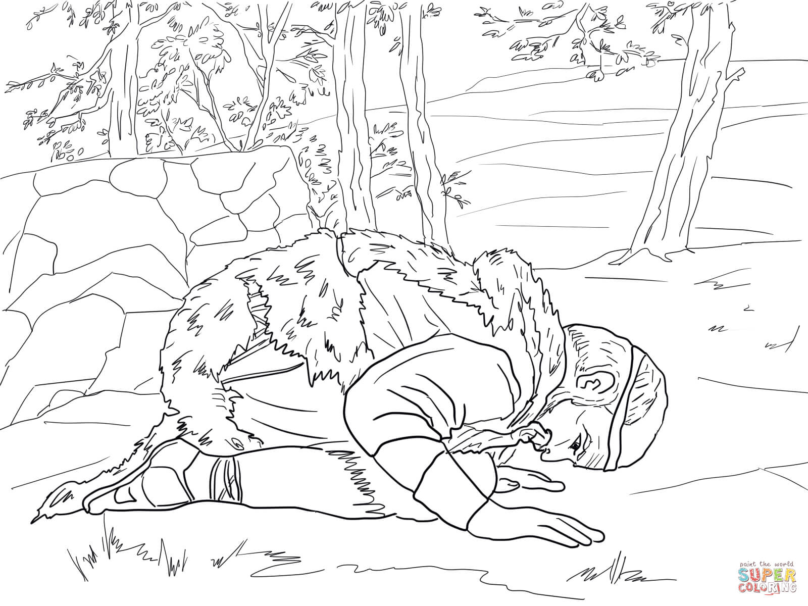 fiesta bible school coloring pages - photo#25