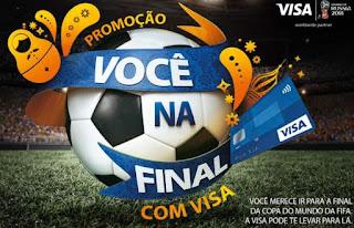 Cadastrar Promoção Visa Você na Final Copa do Mundo 2018