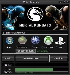 Mortal Kombat X CD Key Generator (Free CD Key)
