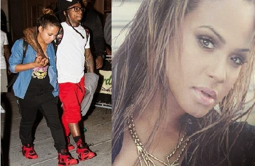 New couple - Lil Wayne and Christina Milian and Ex Nivea don't like it