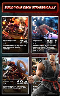Mod GameTekken Card Tournament v3.420 Apk For Android