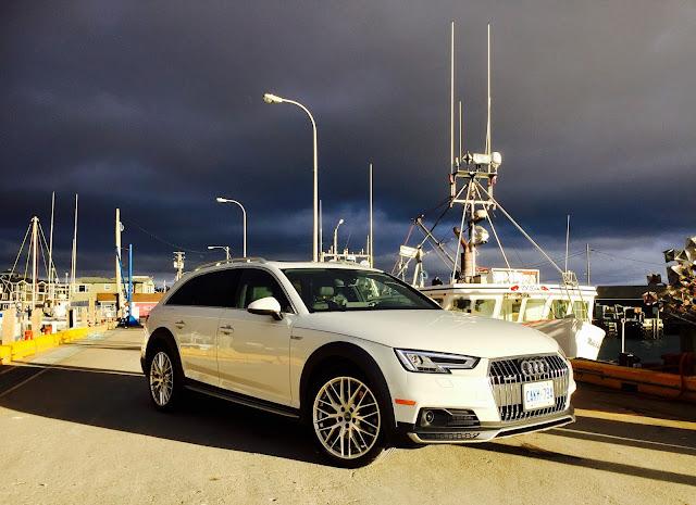 2017 Audi A4 Allroad Fisherman's Cove wharf