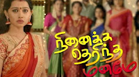 Ninaika Therintha Manamae Serial 16-01-2018 Vijay Tv Serial Watch Online
