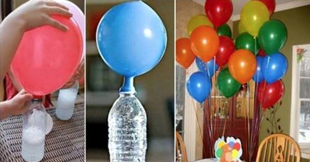 Watch The Trick Of The Japanese To Inflate Balloons. Never Again Will You Use Helium - Inactive!