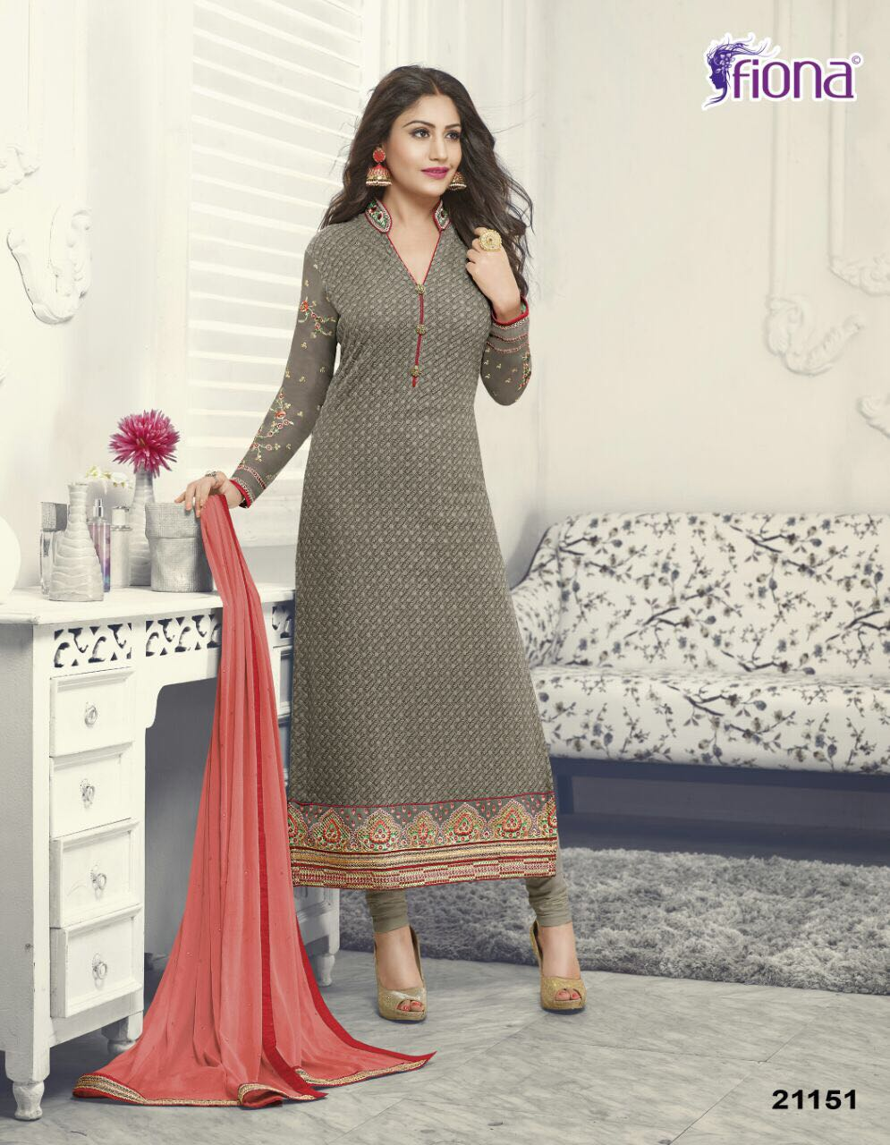 Anika Vol 2 – Latest New Designer Straight Cuit Salwar Suit