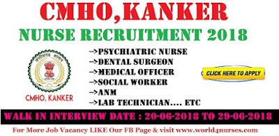 CMHO-Kanker Nurse Recruitment 2018