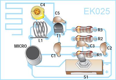 Micro Espion 88-108 MHz