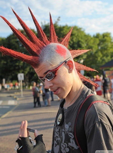 Punk Haircuts 40 Best Punk Hairstyles For Boys And Men Atoz Hairstyles