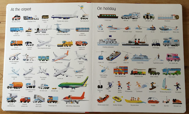 1000 Things That Go by Usborne Books