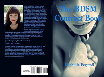 The BDSM Contract Book by Michelle Fegatofi