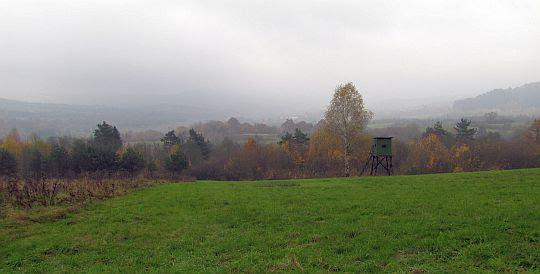 Widokowe łąki i widok w kierunku Piotrusia.
