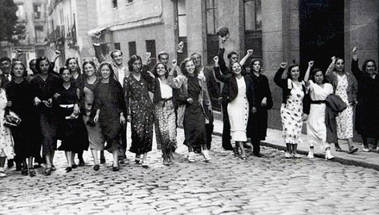 80 años después, Manifiesto del Frente Popular