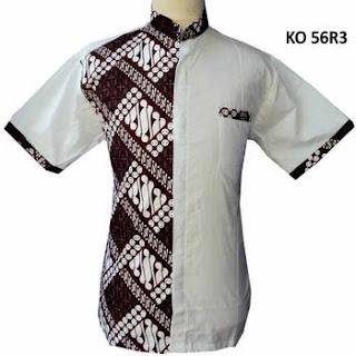model baju koko variasi batik