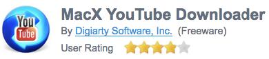 MacX YouTube Downloaderfilehippo