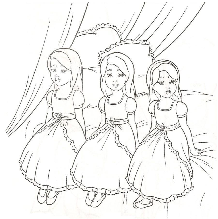 Barbie Images For Coloring | Coloring Pages | 904x901