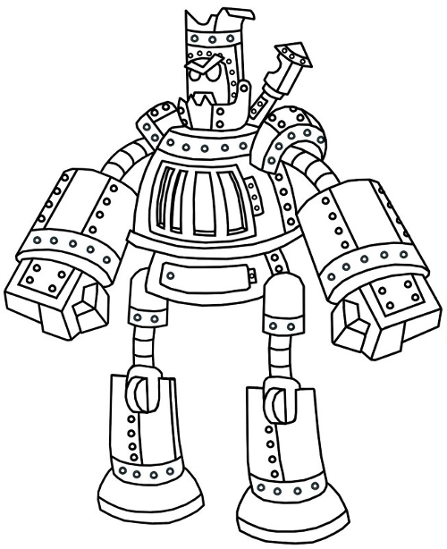 Wizard101 Steel Golem Pet