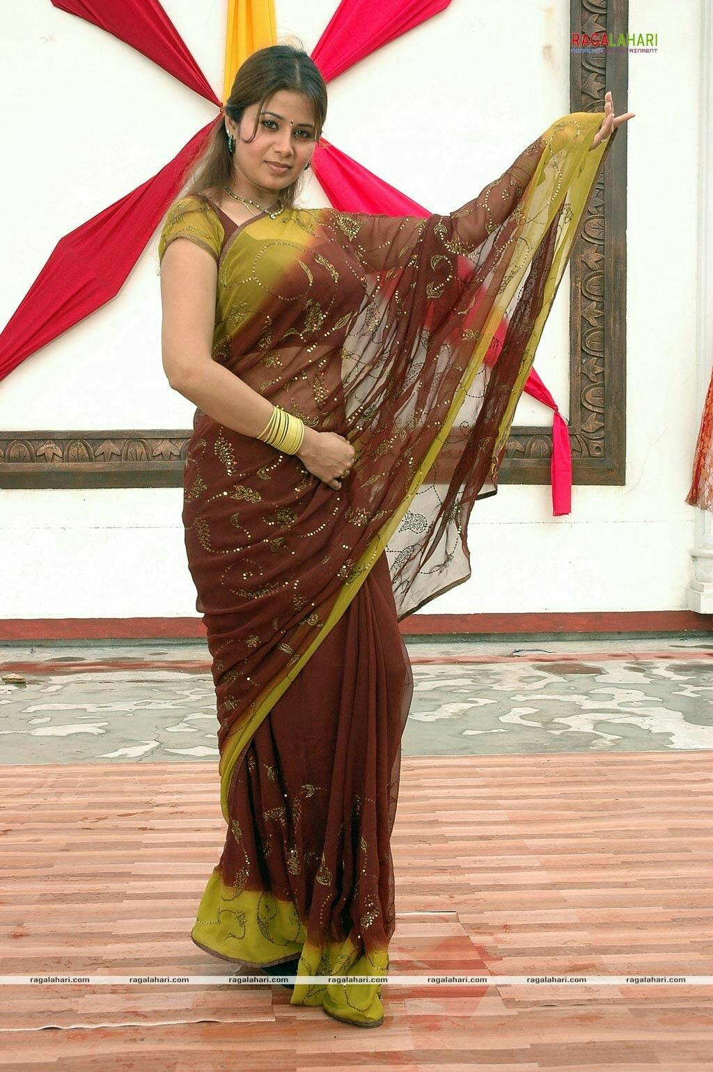 Beautiful Indian Aunties In Saree- Amazing Photo Gallery-2683