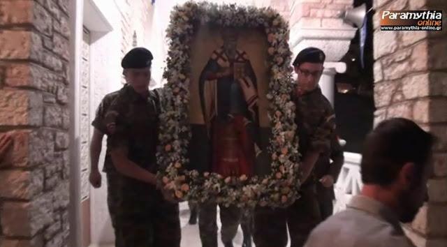 Με λαμπρότητα η λιτάνευση του Ιερού Λειψάνου του Αγ. Δονάτου, σε ανάμνηση της ανακομιδής του (+ΒΙΝΤΕΟ)