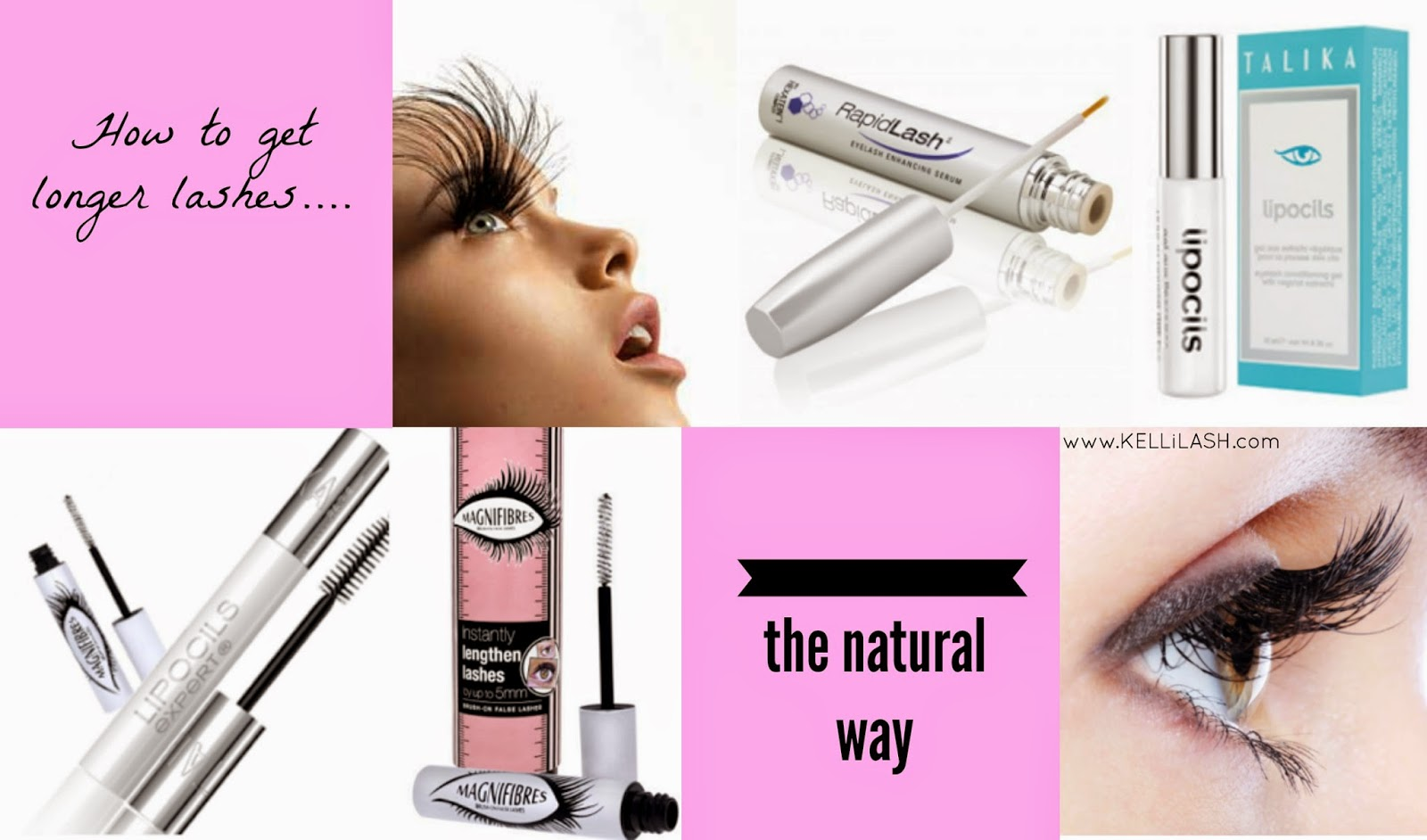 How To Get Long Lashes The Natural Way Kellilash