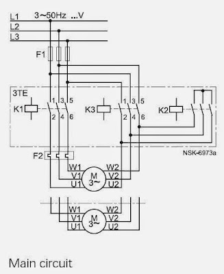 Industry Automation Blog: Typical circuit diagram of Star