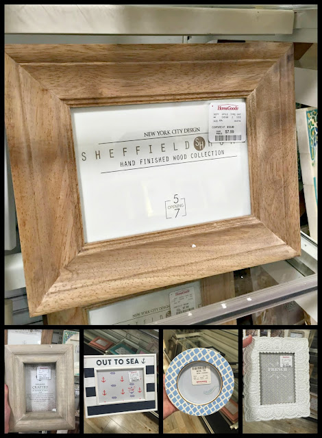 frame selection at Homegoods