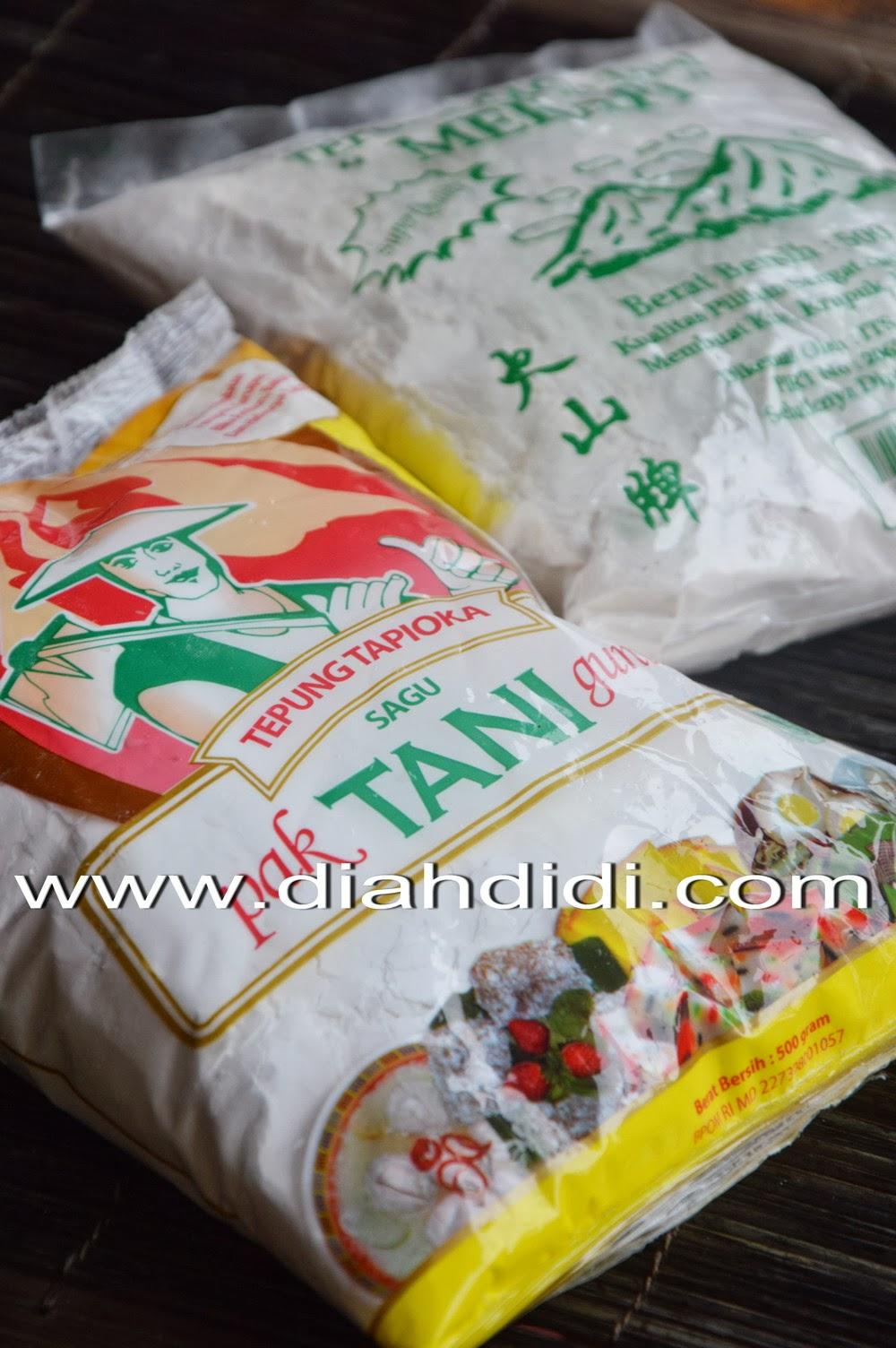 Diah Didi's Kitchen: Tepung Sagu Versus Tepung Tapioka