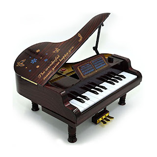 Dollhouse Piano Dual Function Music Toys